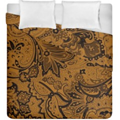 Art Traditional Batik Flower Pattern Duvet Cover Double Side (king Size) by BangZart