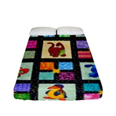Animal Party Pattern Fitted Sheet (full/ Double Size)