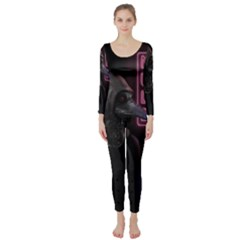Night Walk Long Sleeve Catsuit