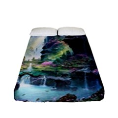 Fantastic World Fantasy Painting Fitted Sheet (full/ Double Size)