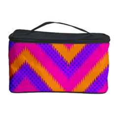 Chevron Cosmetic Storage Case