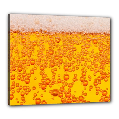 Beer Alcohol Drink Drinks Canvas 24  X 20  by BangZart