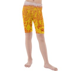 Beer Alcohol Drink Drinks Kids  Mid Length Swim Shorts