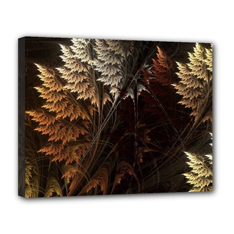 Fractalius Abstract Forests Fractal Fractals Canvas 14  X 11  by BangZart