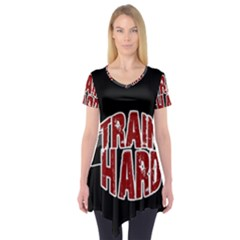 Train Hard Short Sleeve Tunic