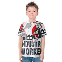 Industry Worker  Kids  Cotton Tee