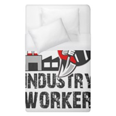 Industry Worker  Duvet Cover (single Size) by Valentinaart
