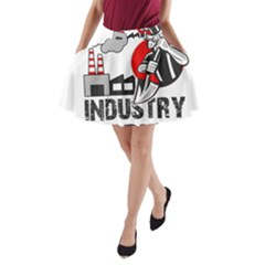 Industry Worker  A Line Pocket Skirt by Valentinaart