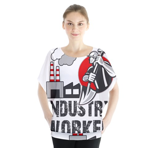 Industry Worker  Blouse by Valentinaart
