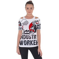 Industry Worker  Short Sleeve Top by Valentinaart