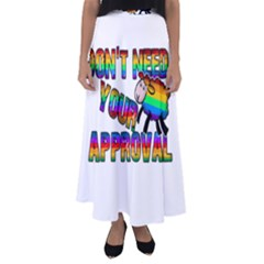 Dont Need Your Approval Flared Maxi Skirt