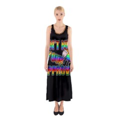 Dont Need Your Approval Sleeveless Maxi Dress