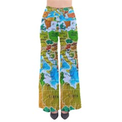 World Map Pants