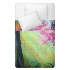 Forests Stunning Glimmer Paintings Sunlight Blooms Plants Love Seasons Traditional Art Flowers Sunsh Duvet Cover Double Side (single Size)