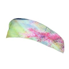 Forests Stunning Glimmer Paintings Sunlight Blooms Plants Love Seasons Traditional Art Flowers Sunsh Stretchable Headband