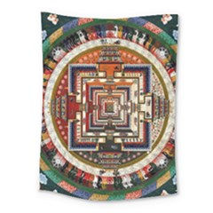 Colorful Mandala Medium Tapestry