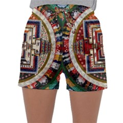 Colorful Mandala Sleepwear Shorts