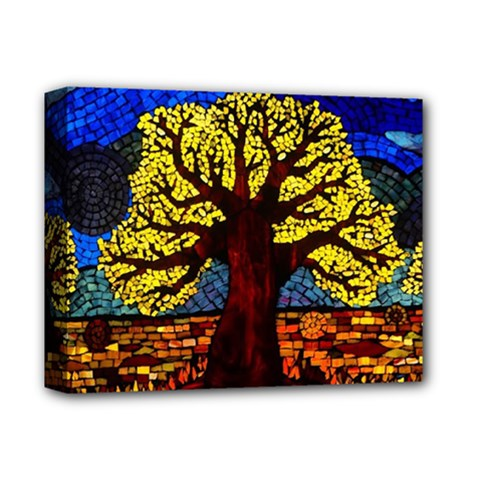 Tree Of Life Deluxe Canvas 14  X 11  by BangZart