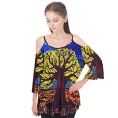 Tree Of Life Flutter Tees