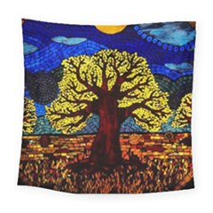Tree Of Life Square Tapestry (large)