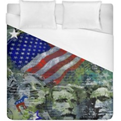Usa United States Of America Images Independence Day Duvet Cover (king Size)