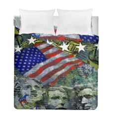 Usa United States Of America Images Independence Day Duvet Cover Double Side (full/ Double Size)