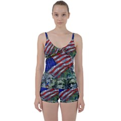 Usa United States Of America Images Independence Day Tie Front Two Piece Tankini