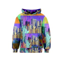 New York City The Statue Of Liberty Kids  Pullover Hoodie