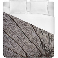 Sea Fan Coral Intricate Patterns Duvet Cover (king Size) by BangZart
