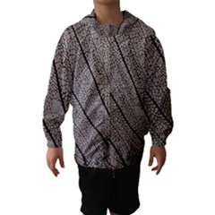 Sea Fan Coral Intricate Patterns Hooded Wind Breaker (kids)
