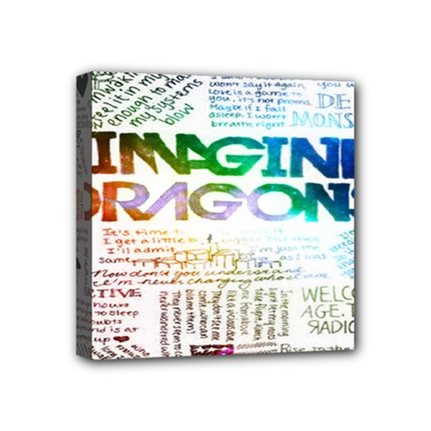 Imagine Dragons Quotes Mini Canvas 4  X 4  by BangZart