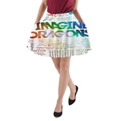 Imagine Dragons Quotes A Line Pocket Skirt by BangZart