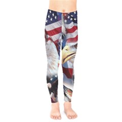 United States Of America Images Independence Day Kids  Legging