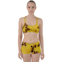 Honey Honeycomb Women s Sports Set by BangZart