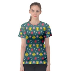 The Gift Wrap Patterns Women s Sport Mesh Tee