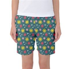 The Gift Wrap Patterns Women s Basketball Shorts