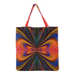 Casanova Abstract Art Colors Cool Druffix Flower Freaky Trippy Grocery Tote Bag by BangZart