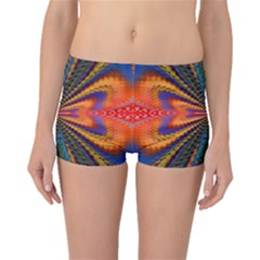Casanova Abstract Art Colors Cool Druffix Flower Freaky Trippy Boyleg Bikini Bottoms