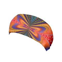 Casanova Abstract Art Colors Cool Druffix Flower Freaky Trippy Yoga Headband