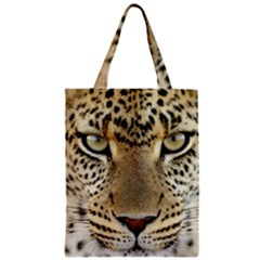 Leopard Face Classic Tote Bag by BangZart