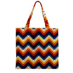 The Amazing Pattern Library Zipper Grocery Tote Bag by BangZart