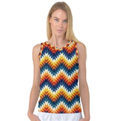 The Amazing Pattern Library Women s Basketball Tank Top