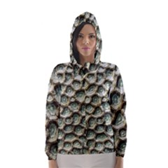 Ocean Pattern Hooded Wind Breaker (women) by BangZart