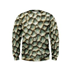 Ocean Pattern Kids  Sweatshirt