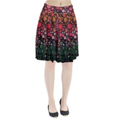 Circle Abstract Pleated Skirt by BangZart