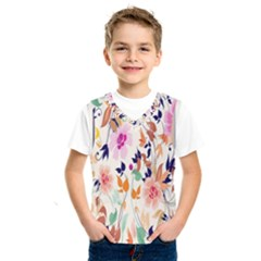 Vector Floral Art Kids  Sportswear