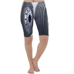 Tire Cropped Leggings