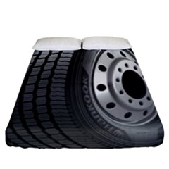 Tire Fitted Sheet (king Size) by BangZart