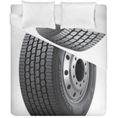 Tire Duvet Cover Double Side (california King Size)