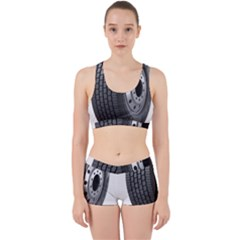 Tire Work It Out Sports Bra Set